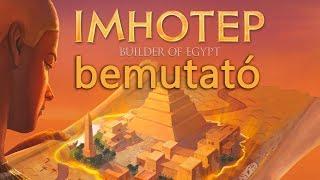 Imhotep - társasjáték bemutató
