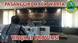 Warta Sunda    Pasanggiri Bahasa Sunda Tingkat Provinsi Jawa Barat    Part 8