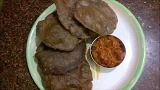 Ragi Poori Recipe - ராகி பூரி - கேழ்வரகு பூரி - Recipe