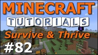 minecraft tutorials e82 name tags and horse armor survive and thrive season 6