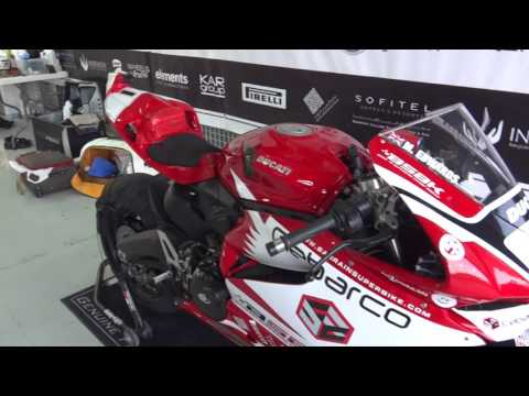 Bahrain BSBK Round 6 Event overview video Mike 'Spike' Edwards