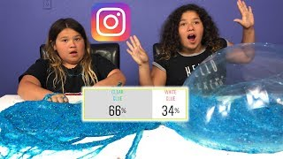 OUR INSTAGRAM FOLLOWERS HELP US MAKE SLIME - TWO GALLONS OF GIANT SLIME