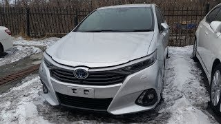 обзор Toyota Sai 2013 года - Стильный гибридный седан!