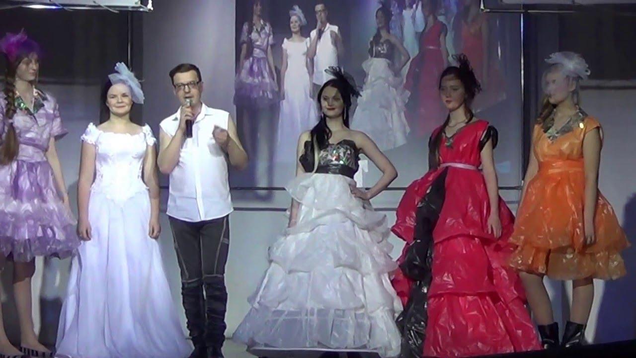 Платье из пакетов видео