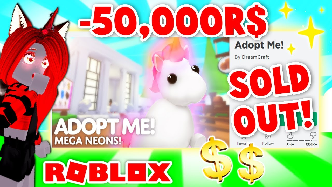 I Bought EVERYTHING Possible In Adopt Me! (Roblox)