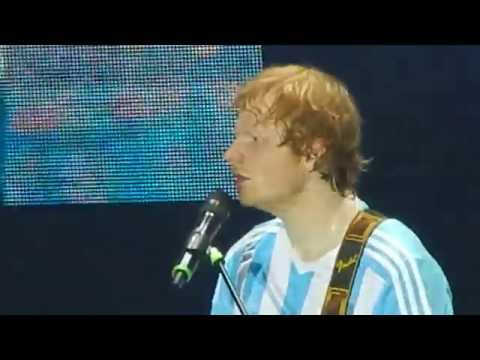 Ed Sheeran - Kiss Me/Thinking Out Loud - Buenos Aires, Argentina - 25.04.2015