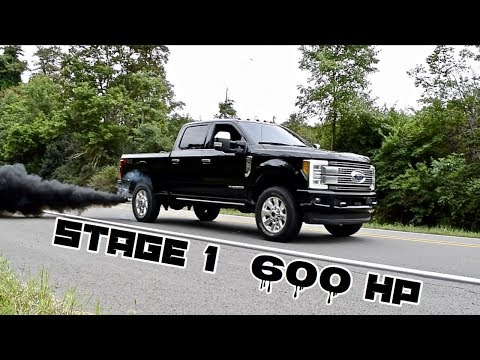 2017 6.7 Powerstroke Stage 1 600 hp