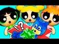 Powerpuff Girls Save Catboy from PJ Masks