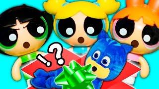 POWERPUFF GIRLS Cartoon Network  Saves PJ Masks  Catboy