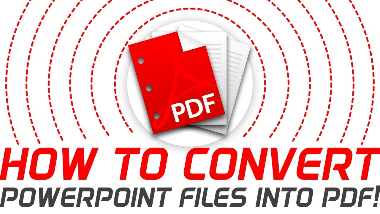 How to convert pdf into powerpoint free