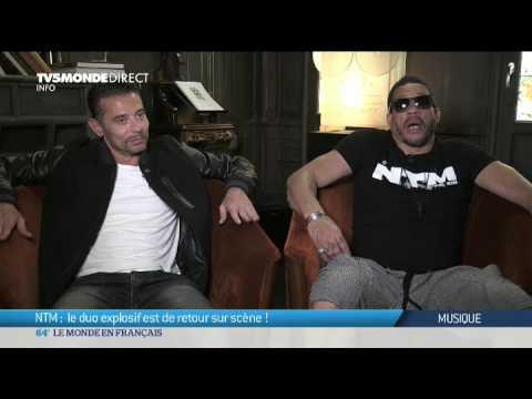 Musique: NTM, le duo explosif est de retour sur scène!