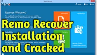 Remo Recover How to Install and crack