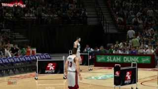 NBA 2K13 ALL-STAR WEEKEND / Three Point Shoot Out DLC Gameplay ROUND 1