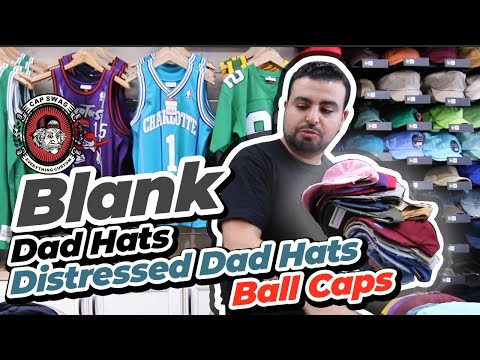 Blank Dad Hats | Blank Distressed Dad hats | Blank Ball Caps