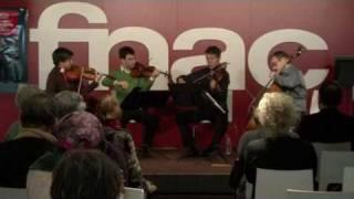 Showcase - Quatuor Diotima - (1/3) - Opus 56 - Fnac Montparnasse Paris
