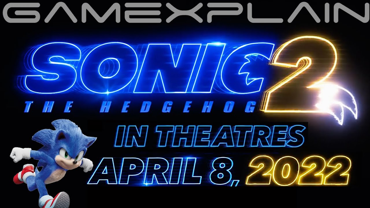 It's Official Sonic the Hedgehog 20 Movie Title Revealed + Coming April 20,  2002020