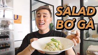 Salad bơ gà cực dễ làm cho bạn dáng đẹp Vlog 79