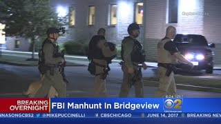 FBI, Police Search Bridgeview For 3rd Armed Robbery Suspect