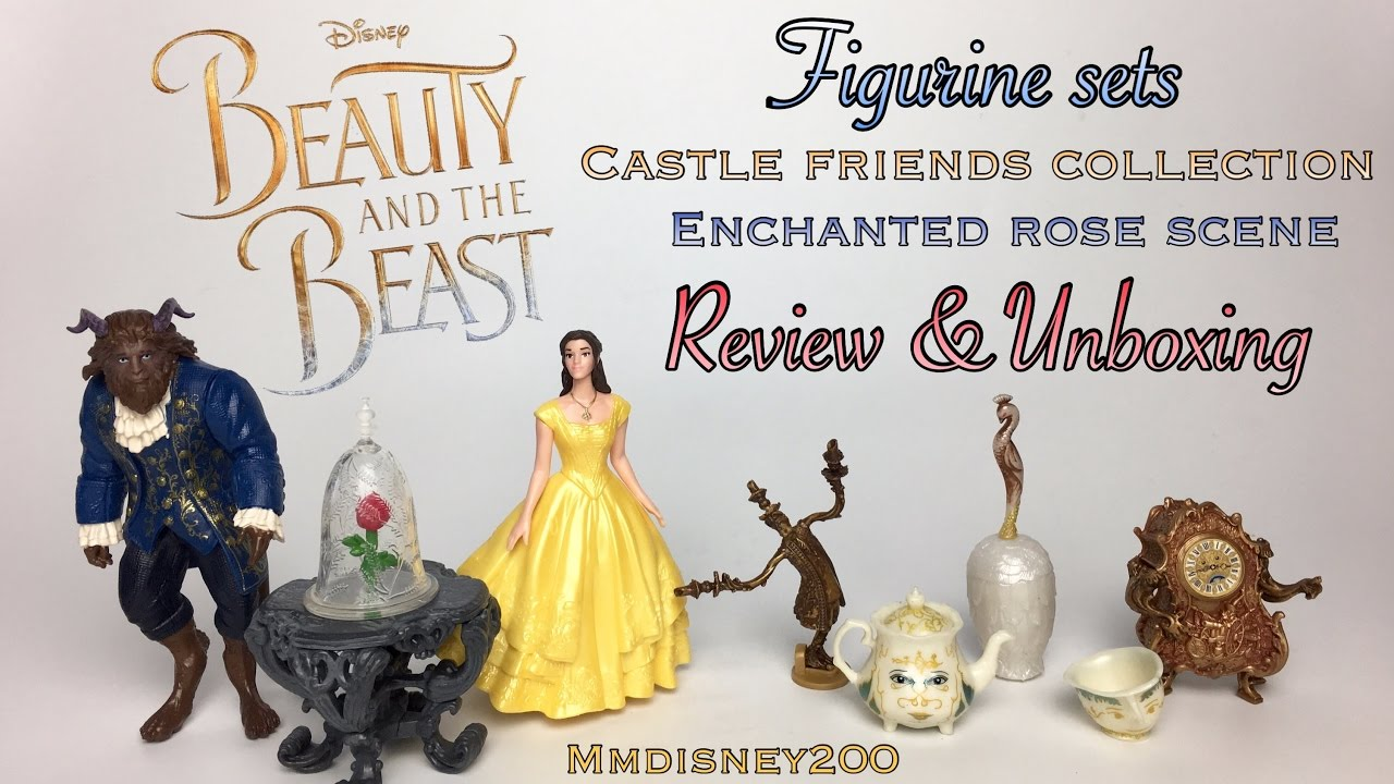 Beauty And The Beast Live Action Figurine Sets By Hasbro Review Unboxing