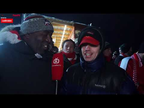 Östersund  0-3 Arsenal | We Were Good But They Were A Pub Side!