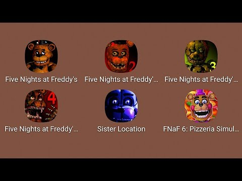 FNaF,FNaF 2,FNaF 3,FNaF 4,FNaF 5,FNaF 6,Five Nights At Freddy's,Sister_Location