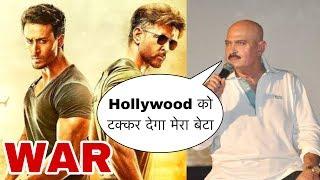 War Movie Reaction | Rakesh Roshan Reaction on War Movie | Hrithik, Tiger