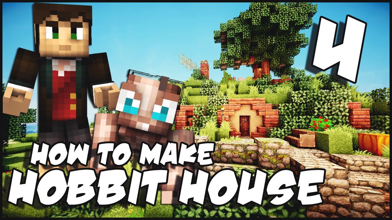 Minecraft how to make a hobbit house part 4 download for Keralis modern house 9 part 1