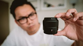 Fujinon XC 35mm F2 35 F2 Brand New Garansi Resmi FFID - Fix Lens Fuji XC 35 F2 Baru