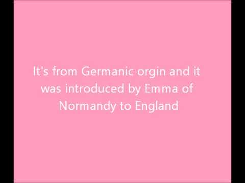 The meaning of the name Emma - YouTube