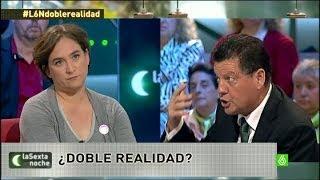 """laSexta Noche - Alfonso Rojo llama """"gordita"""" a Ada Colau y es expulsado del plató"""