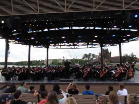 SHS Orchestra at the Disney Waterfront