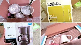 Apartment Essentials Haul (On a Budget) : DOLLAR TREE+ TARGET +HOMEGOODS
