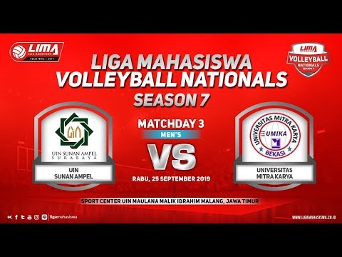 UINSA vs Umika LIMA Volleyball Nationals Season 7