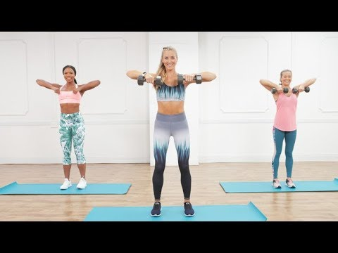 30-Minute Calorie-Torching Cardio Workout With Weights