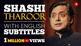 LEARN ENGLISH | SHASHI THAROOR: Britain owes reparations to India (English Subtitles)
