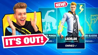 MY FORTNITE SKIN IS OUT NOW!