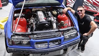 FIRST START OF THE 1.5JZ ENGINE!!!!