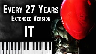 IT (2017) Main Theme - Every 27 Years [Extended Version] Stephen King's IT