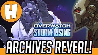 Overwatch Storm Rising - Lore + Teaser Analysis! | Hammeh