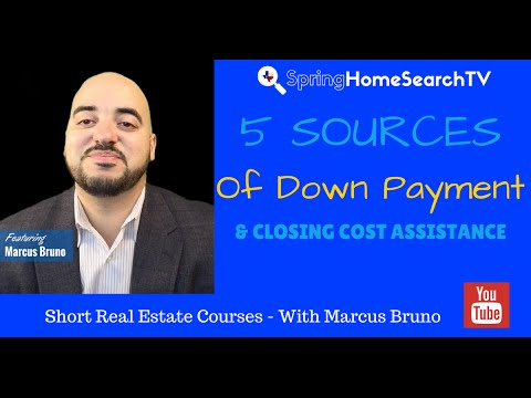How To Find Downpayment & Closing assistance In Spring & The Woodlands Texas