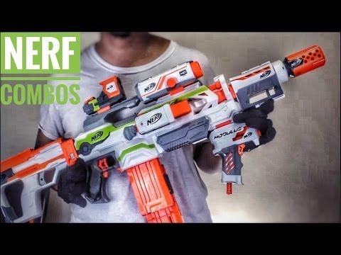 nerf combos nerf modulus ecs 10 tactical attachment combinations