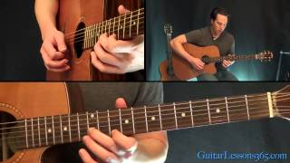 Eric Clapton Old Love Unplugged Guitar Solo Lesson - Acoustic