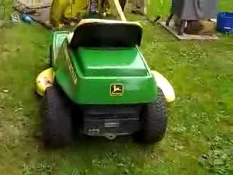 John Deere 68 rear engine rider  YouTube