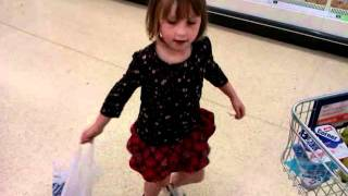 Tap dance in sainsburyd