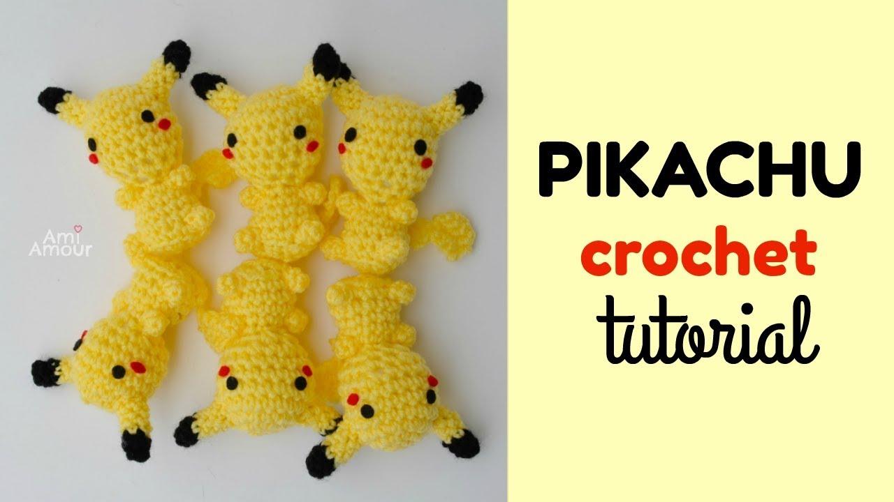 Pikachu Crochet Tutorial | Pokemon Amigurumi | Free ...