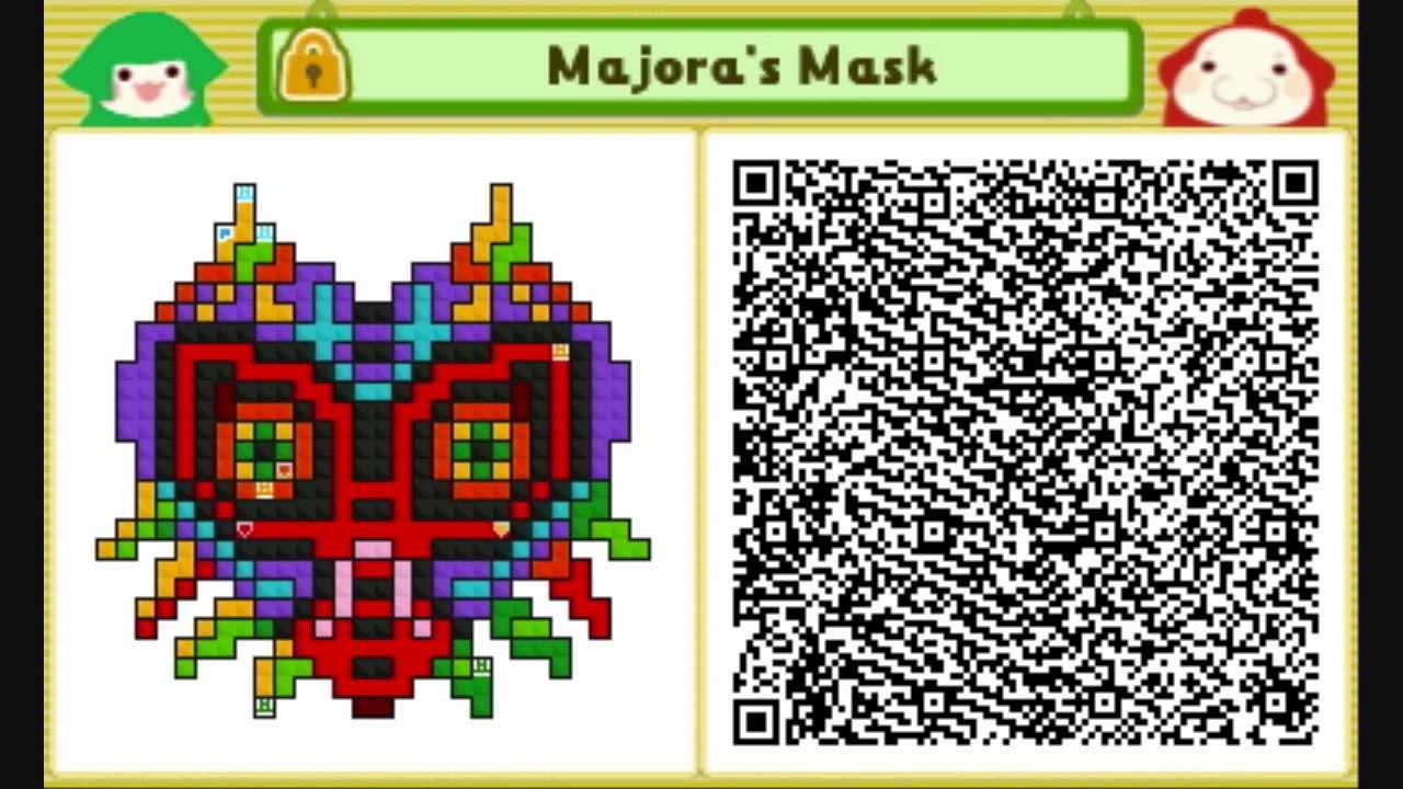 Go Back > Pix F... Qr Codes Animal Crossing New Leaf Zelda Flag