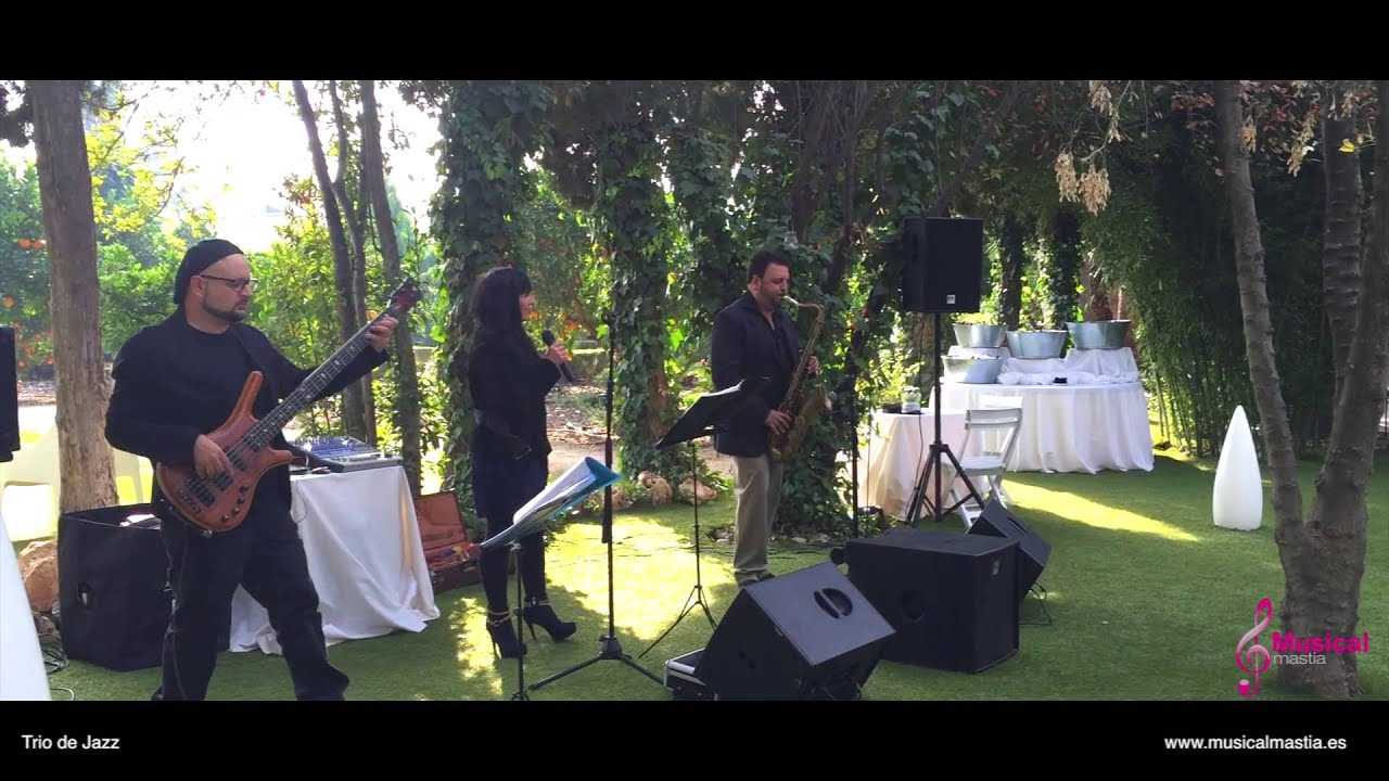 Trio de Jazz RESTAURANTE EL ESTUDIO DE ANA Bodas Murcia Wedding ...