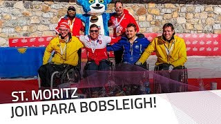 Join Para Bobsleigh! | IBSF Para Sport Official