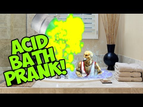 MORTAL KOMBAT: ACID BATH PRANK!