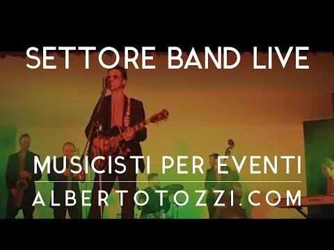 Musica Matrimonio Roma - Live Band Swing & Roll - 015